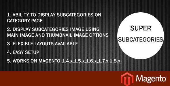 super-subcategories