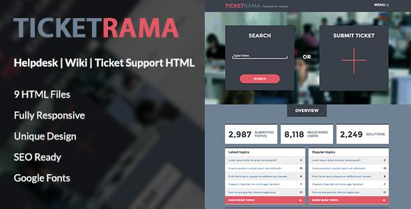ticketrama-helpdesk