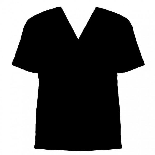black v neck t shirt template - photo #3