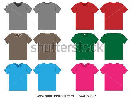 vneck-tshirt