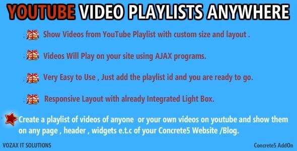 youtube-playlists-concrete5-plugins