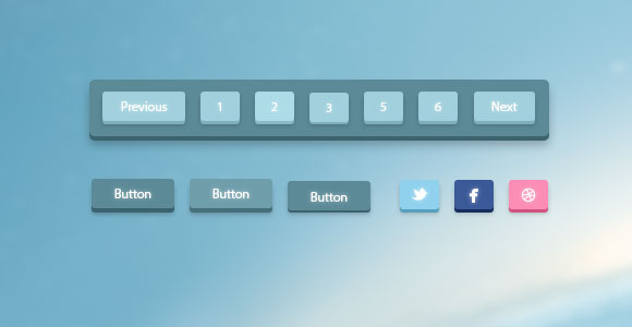 3d-pagination-buttons