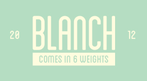 blance-font