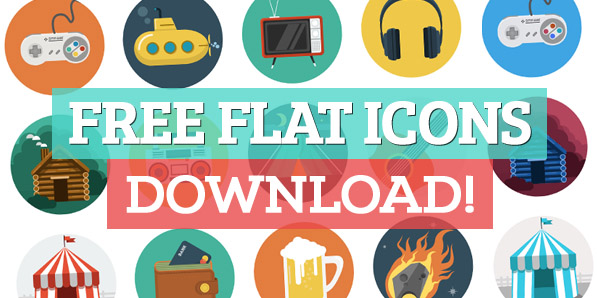 75+ Powerful Free Flat Icons
