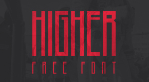 higher-typeface