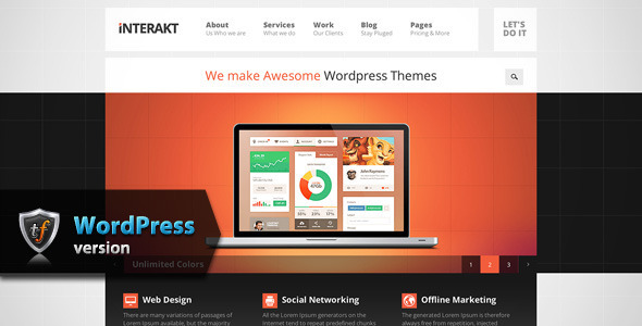 25+ Corporate Professional WordPress Themes