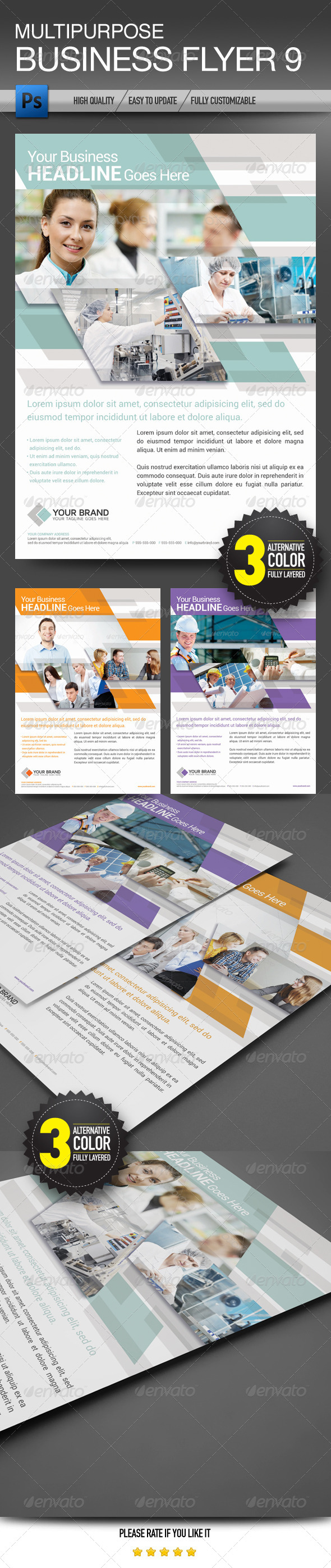 multipurpose-psd-flyer-templates
