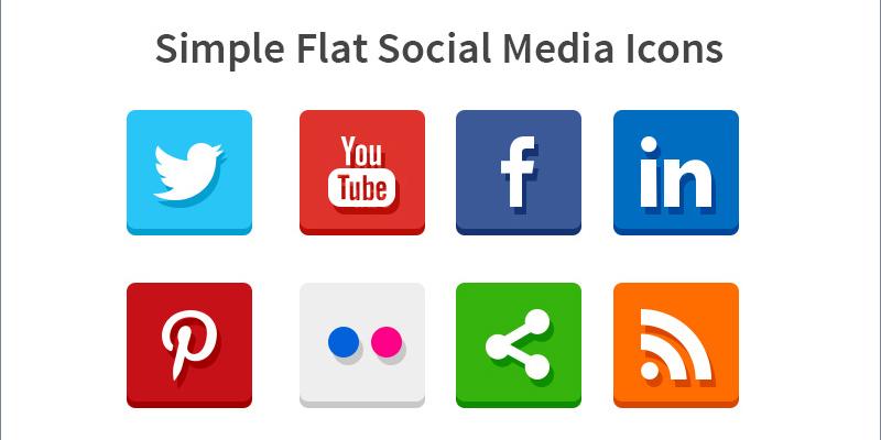 social-flat
