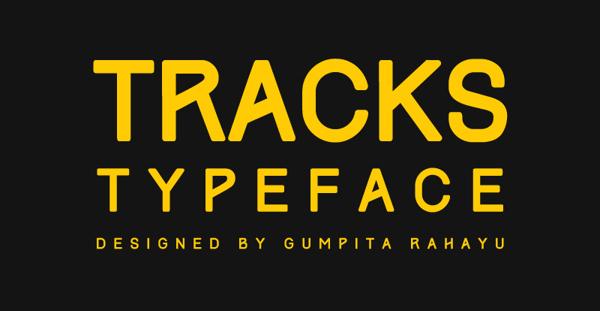 tracks-typeface