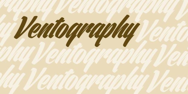 ventography-font