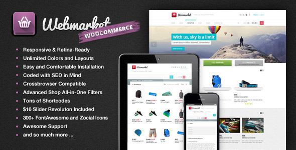 Webmarket html template for online shop | website templates and.