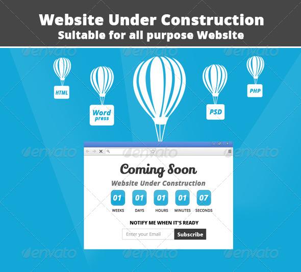 website-under