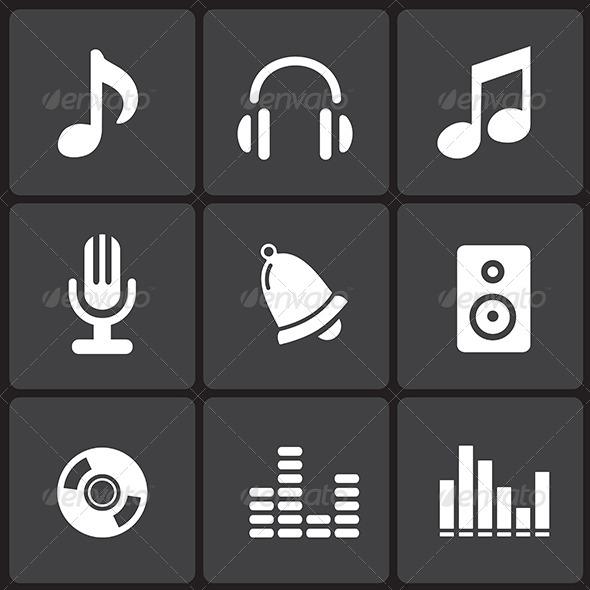 black-music-symbol