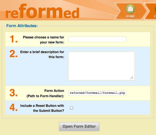 reformed -form