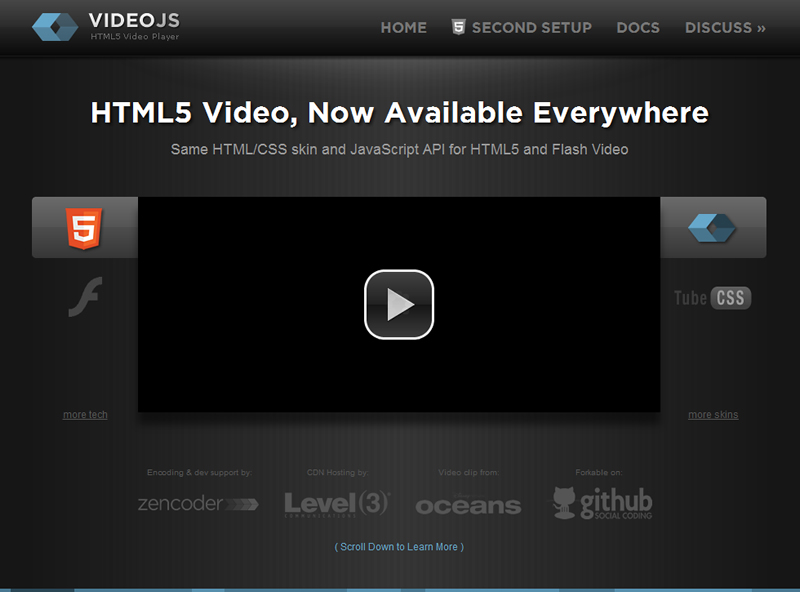 Awesome Html5 Video Player without flash player