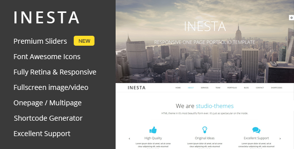 inesta-one-page