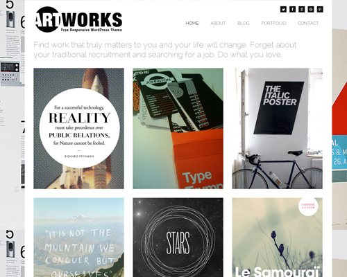 30 creative free photography wordpress themes simple artwork maxwellsz