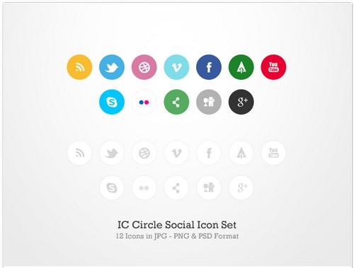 Circle Social Icon