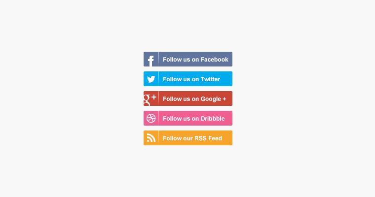 flat-social-media-buttons