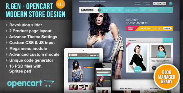 25+ Best Selling OpenCart Themes for eCommerce