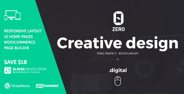30+ Creative Agency WordPress Themes