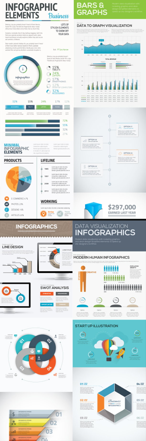 free-infographic-element-template