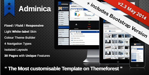55 Powerful Best Seller HTML5 Admin Templates