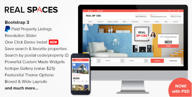 35 Powerful WordPress Real Estate Themes