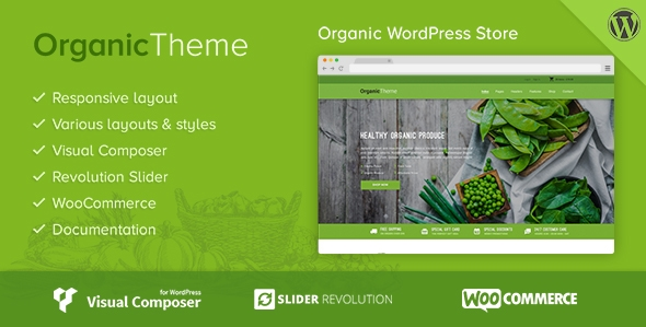 25+ Farming WordPress themes for Green Website