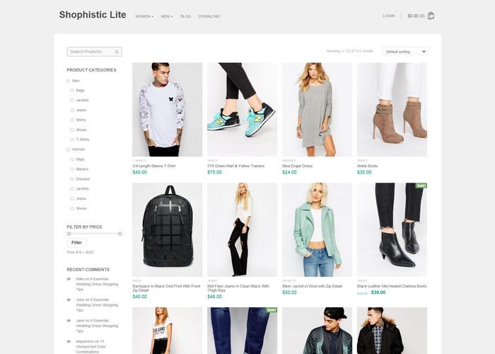 15+ Amazing Post for Best Free eCommerce WordPress Themes