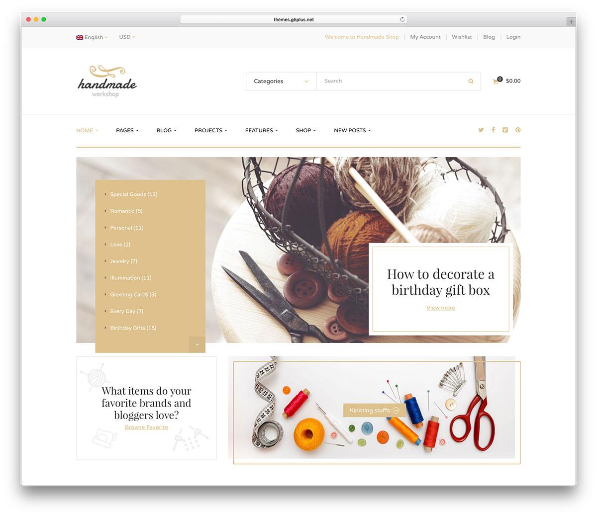 30 WordPress Shop WooCommerce Themes Responsive 2019