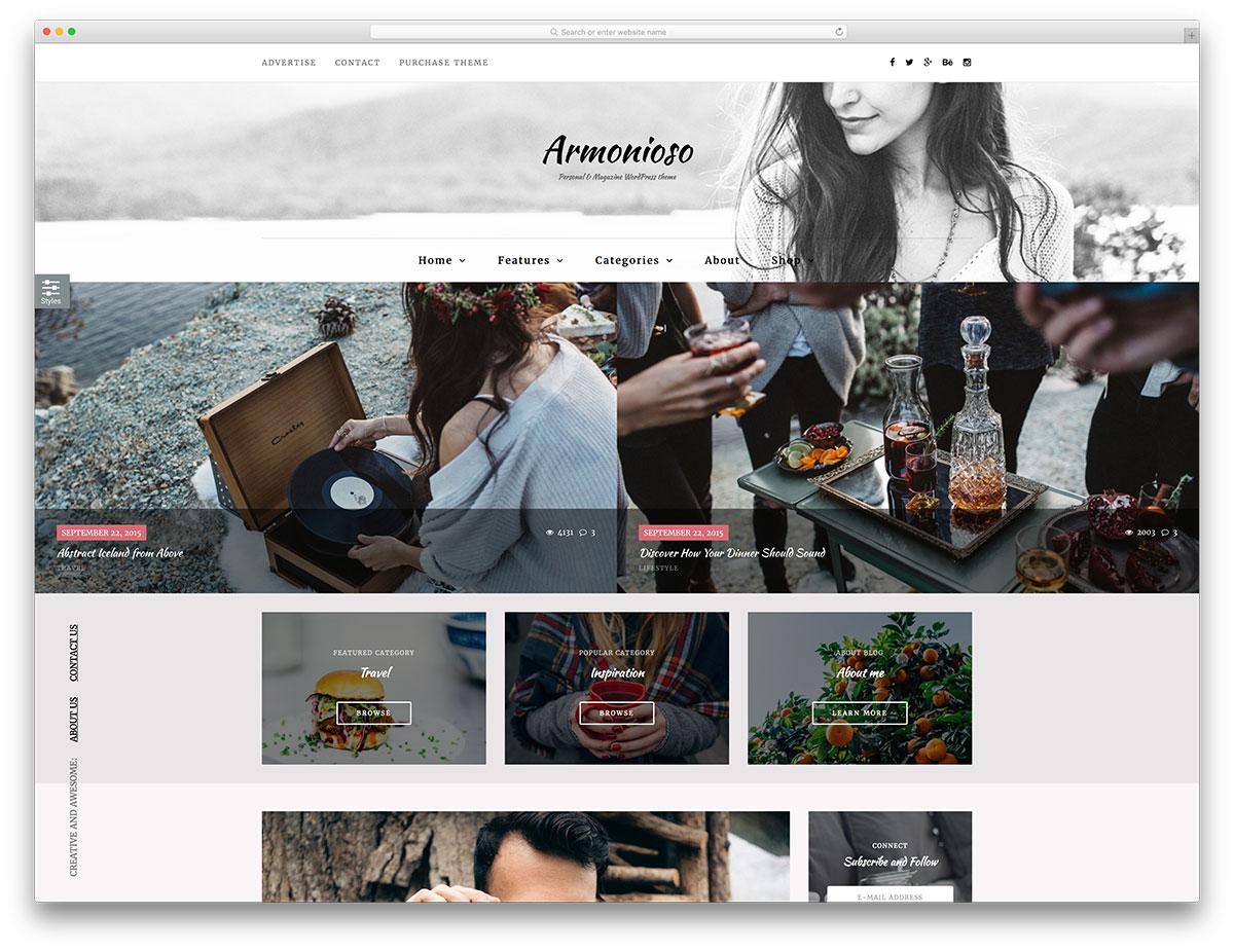 30+ Powerful Magazine and Fashion Responsive WordPress Themes 2018
