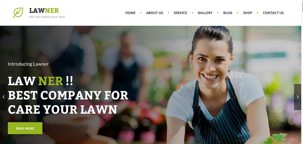 15+ Garden and Gardening WordPress Themes