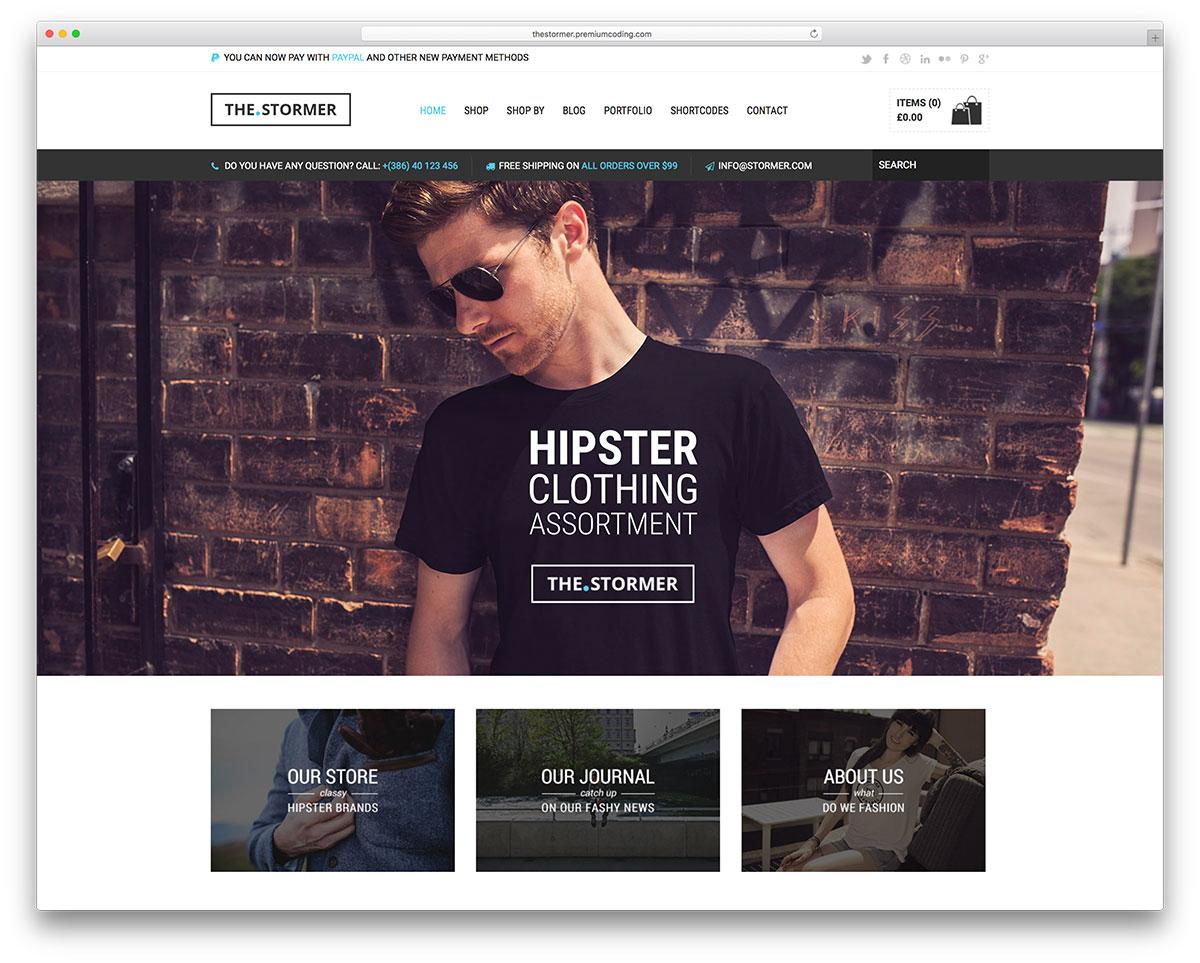30+ New eCommerce WordPress Themes for WooCommerce eStore