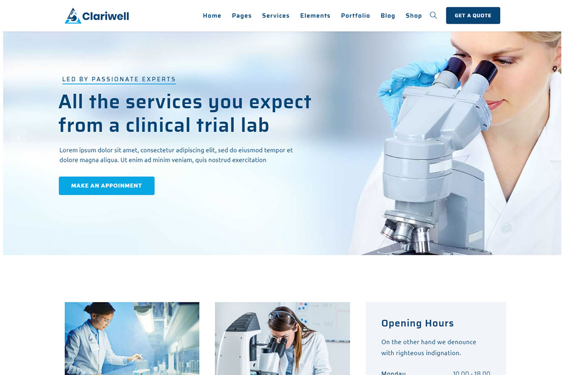 12+ Best Science WordPress Themes For Reseach, Laboratory, etc 2020