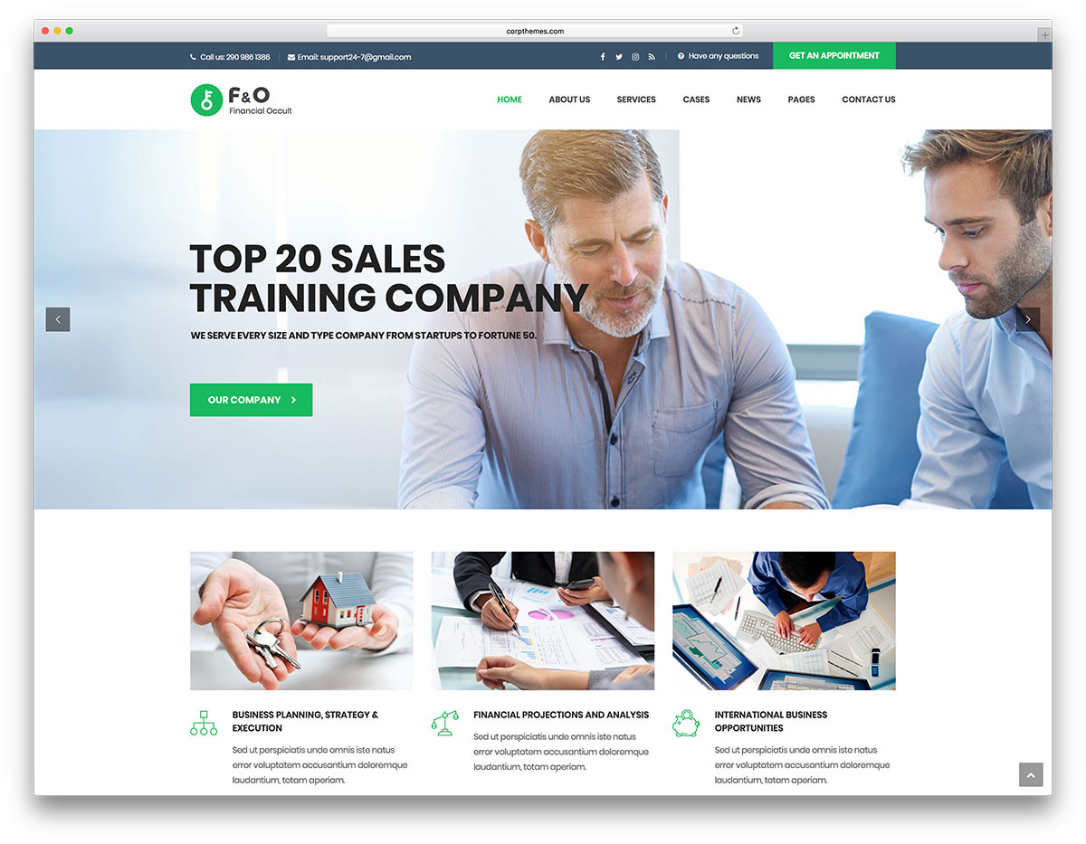 20 Consulting WordPress Themes To Assist Your Consulting Business Grow Online 2020